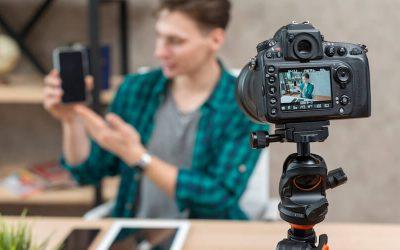 Produção de conteúdo em vídeo