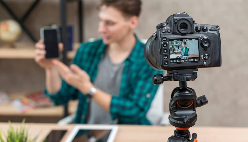 producao de conteudo em video para redes sociais